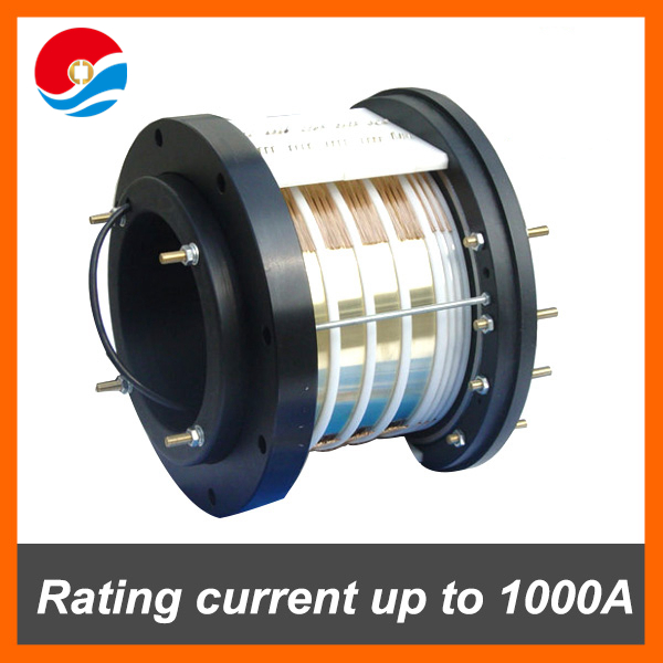 Electrical contacts of High Current Slip rings Max upto 1000A