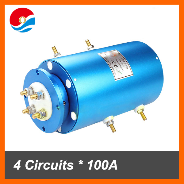 Rotary joint for electrical swivel large current 100A of slip ring motor
