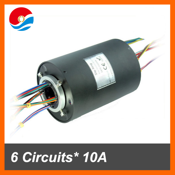 Conductive through bore slip ring 1'' (25.4mm) hole size with 24 wires contact