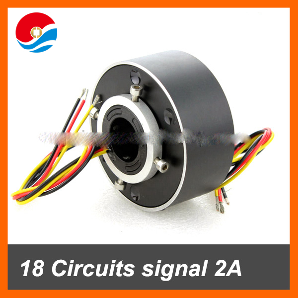 Electrical industrial 18 circuits signal/2A of bore size 25.4mm(1